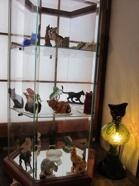 フランクリンミントの猫たち
